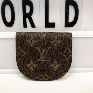 Louis Vuitton Ron Monogram Coin Case Purse